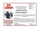 Erri Comfort Magnesium Supplement 5 lítrar